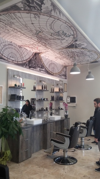 Barber Shop interior design